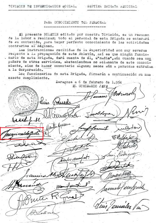 Pacto de confidencialidad de la BPS en Zaragoza