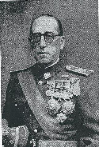 Fotografia del coronel Eymar