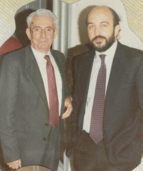 Marcelino Camacho y Joaquín Almunia