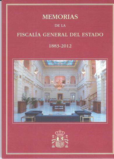 Carátula del DVD, Memorias de la Fiscalía General del Estado 1883-2012