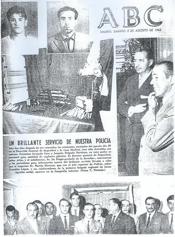 Una portada de ABC de Madrid del sábado 3 de agosto de 1963 que no tiene desperdicio