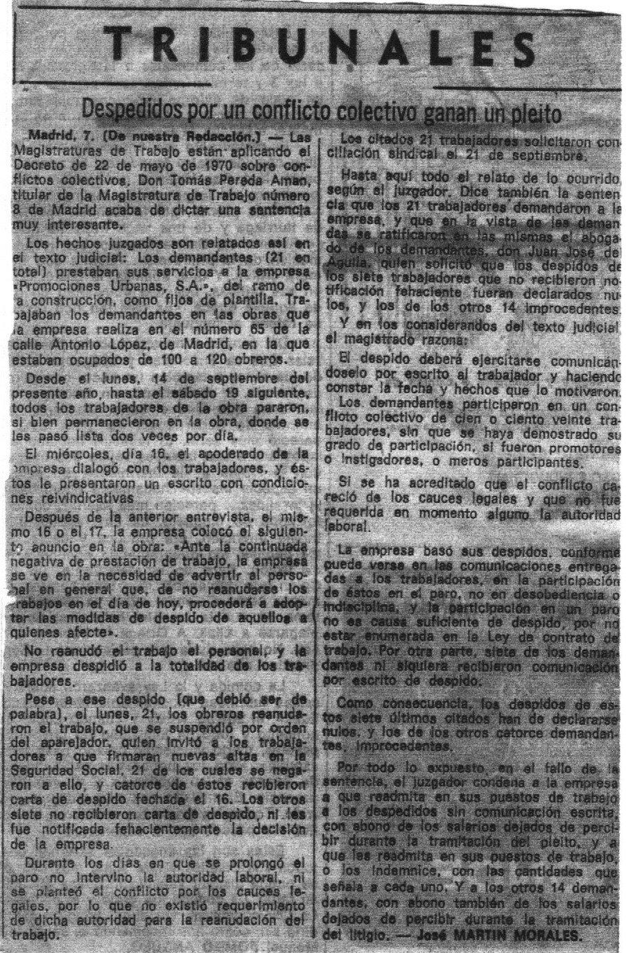 La Vanguardia Española de 08/12/71