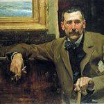 Retrato de Benito çperez Galdos