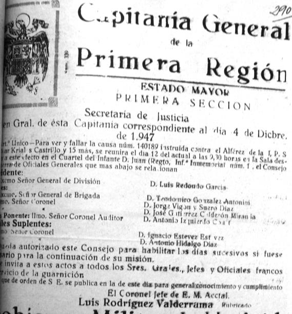 Documento oficial de la causa 140.189