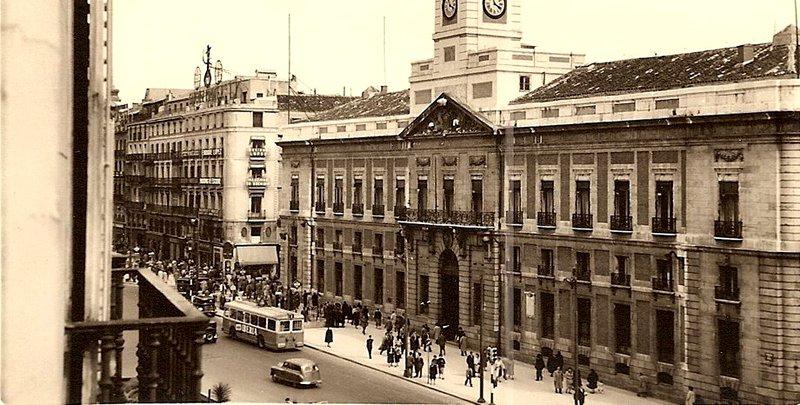 Antigua Dirección General de Seguridad en la Puerta del Sol
