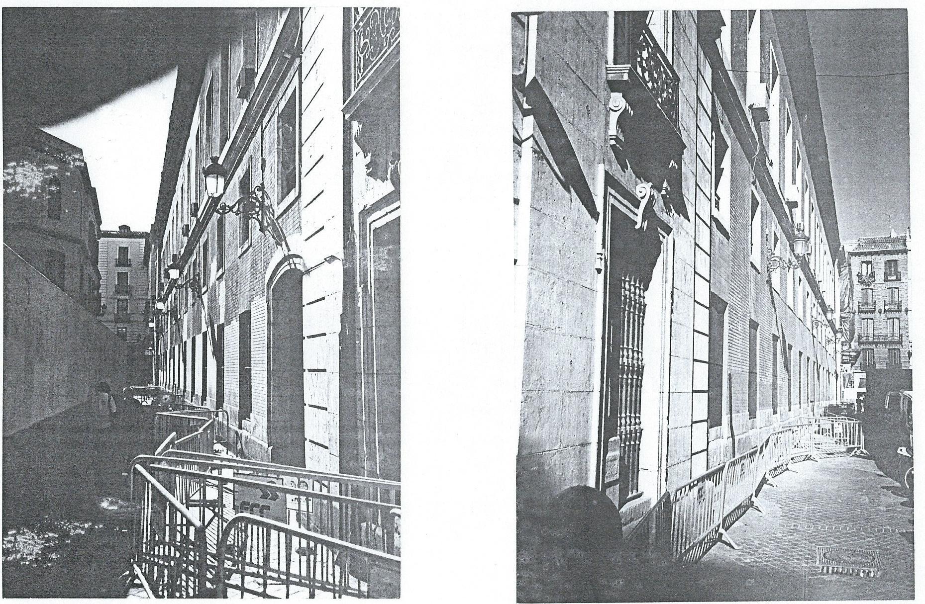 calles exteriores de dgs en obras
