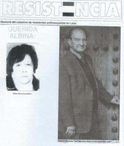 Albina y Nicolas sanchez Albornoz
