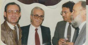 Francisco Gor, Carlos de la Vega, Luis López-Guerra y José Antonio Martín Pallín