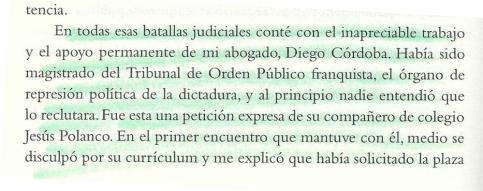 Artículo de JL Cebrían sobre Diego Córdoba