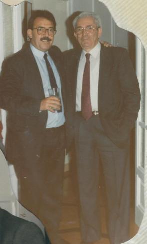 Juan Jose con Marcelino Camacho
